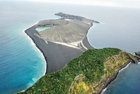 První návštěva: Zbrusu nový ostrov