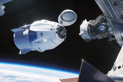 Crew Dragon: Poprvé ve vesmíru