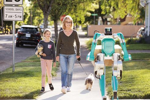 Digit: Robotický doručovatel zvládne hodně