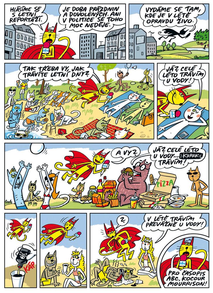 Komiks ABC: Jak trávíte léto?