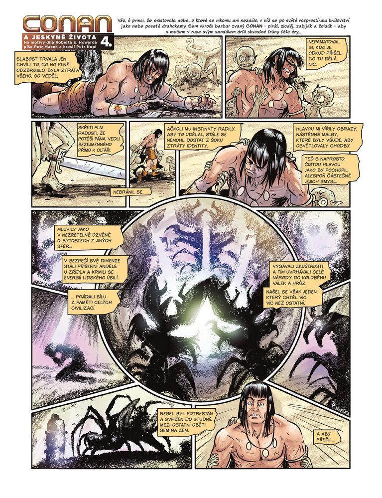 Conan a jeskyně života 4