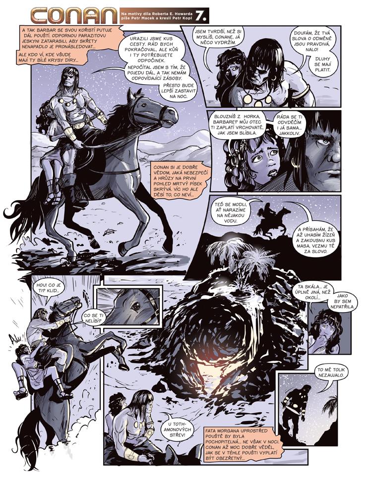 Conan a jeskyně života 7