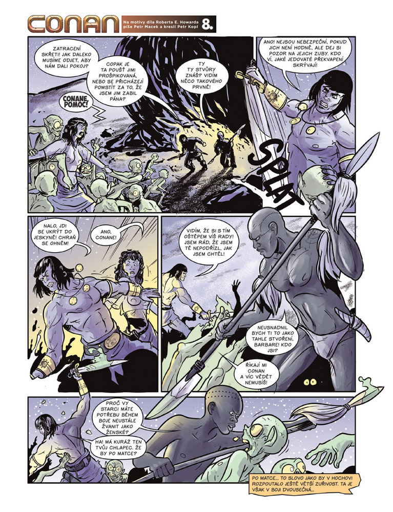 Conan a jeskyně života 8