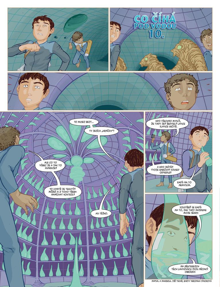 Co číhá pod vodou 10