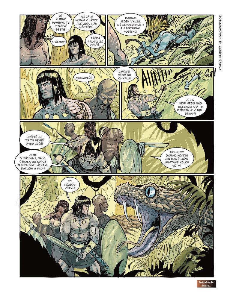 Conan a jeskyně života 11