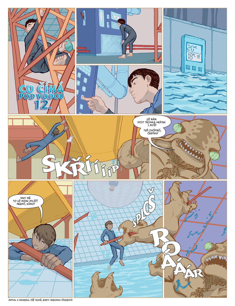 Co číhá pod vodou 12