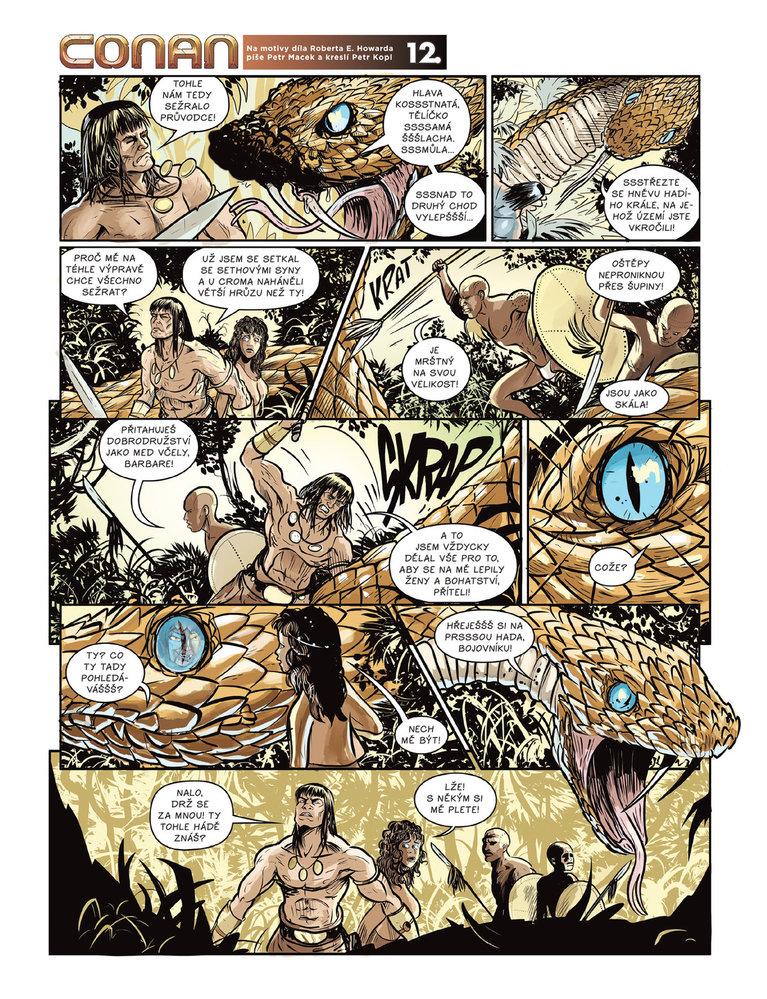Conan a jeskyně života 12