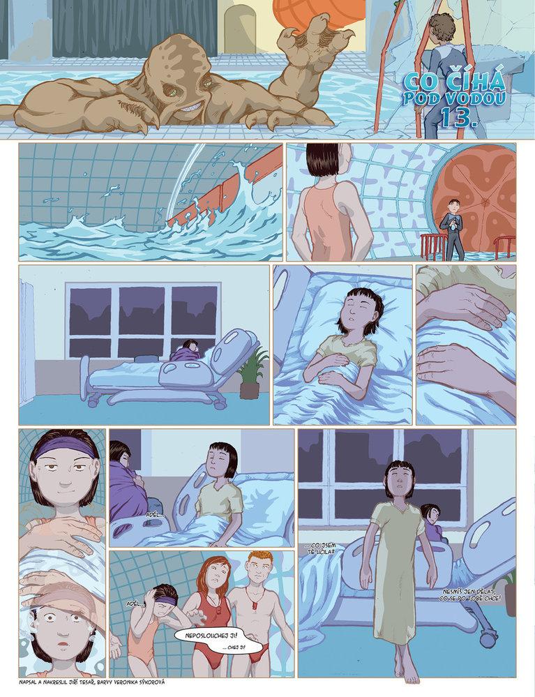 Co číhá pod vodou 13