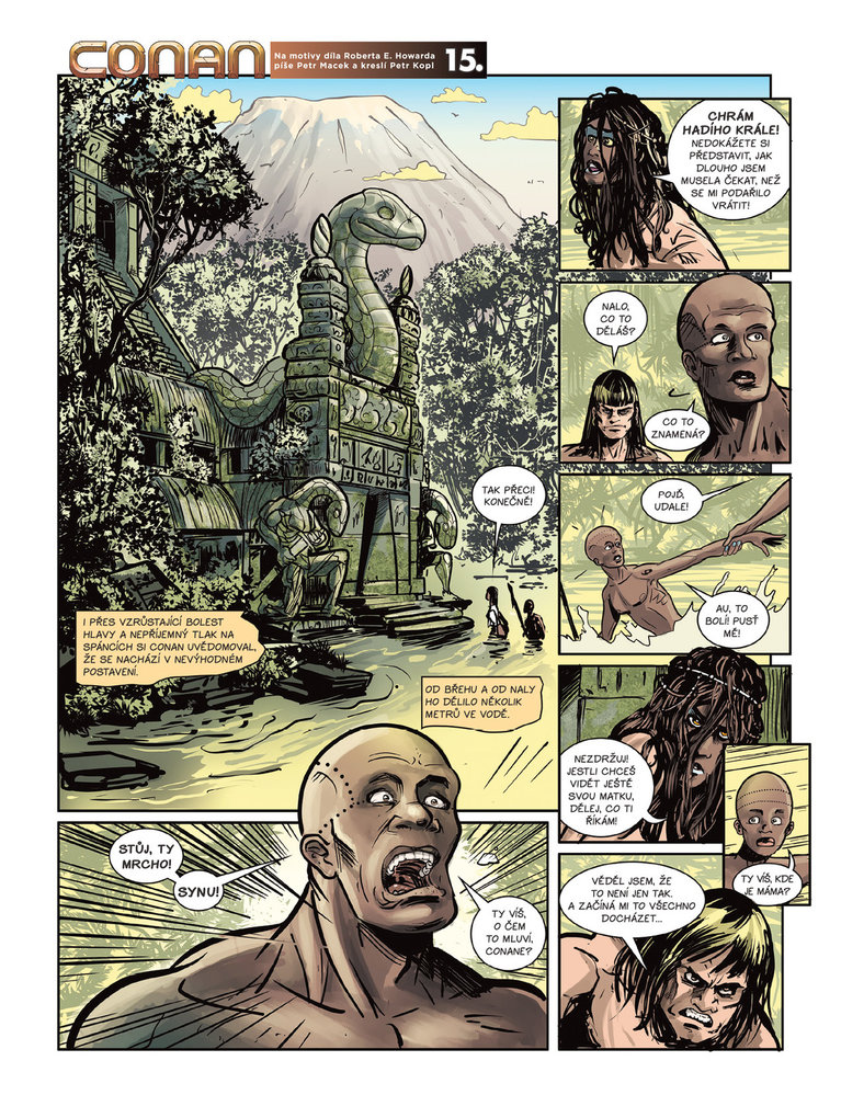 Conan a jeskyně života 15