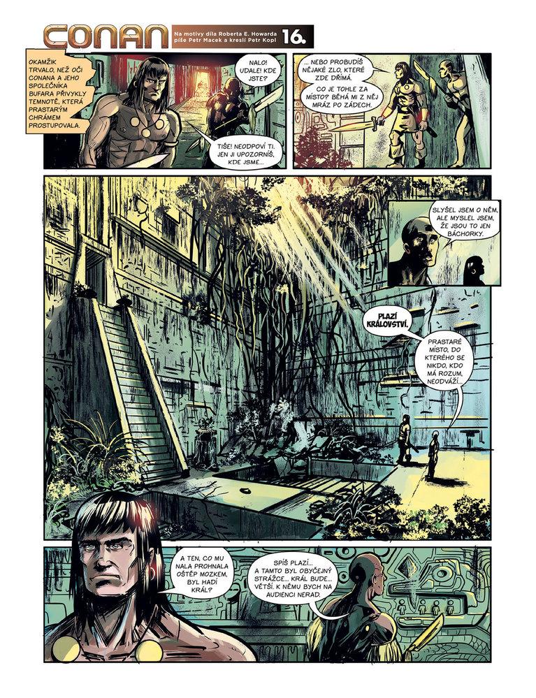 Conan a jeskyně života 16