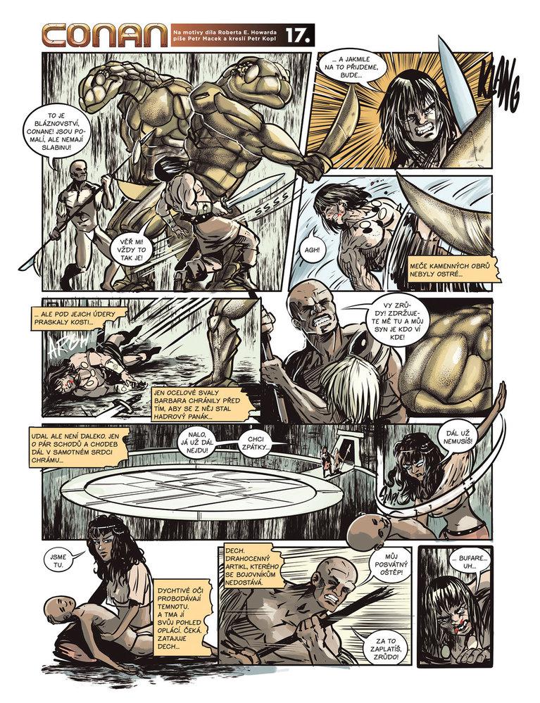 Conan a jeskyně života 17