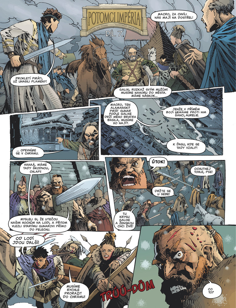 Potomci impéria - 7. díl