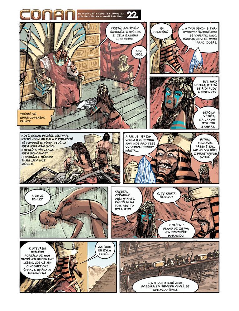 Conan a jeskyně života 22