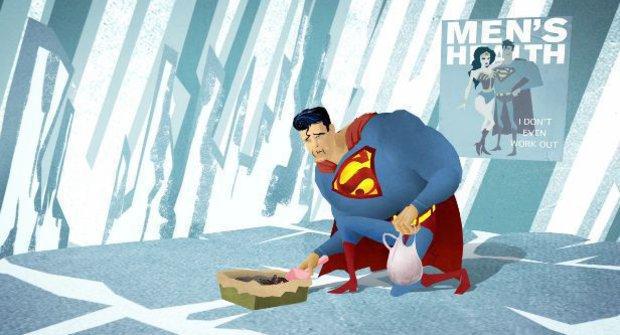 """Superman zase jednou zachraňuje svět, ale ouha! Co s """"dárečkem""""?"""