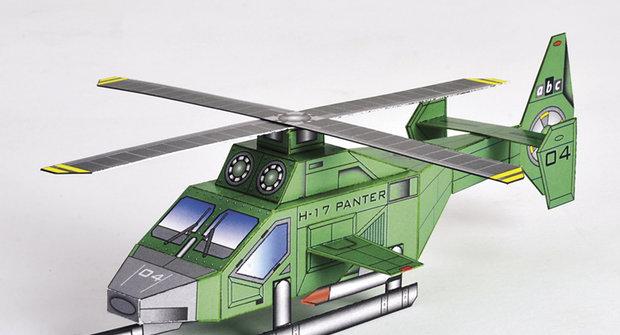 Papírová armáda ABC: Vrtulník H-17 Panter
