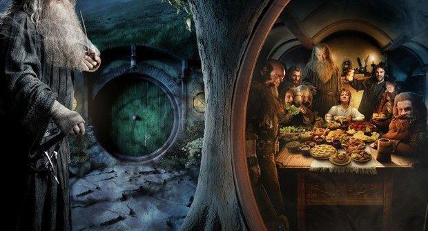 Comic-Con 2012: Parádní plakáty na Hobita a upoutávka na Oz
