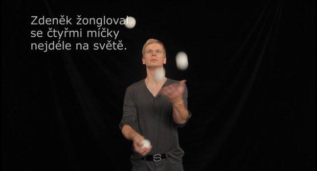 Škola žonglování 4: Machrujte se čtyřmi míčky