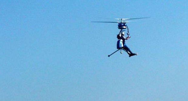 Podivný vynález: Vrtulník pro jednoho už existuje