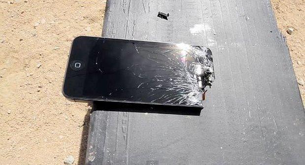 Nový iPhone 5 je na odstřel kalibrem .50