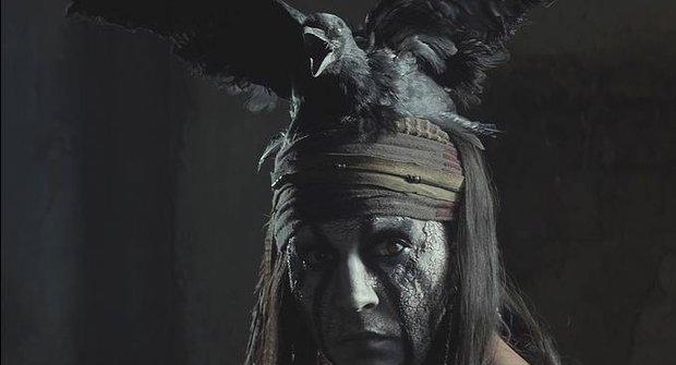 Johnny Depp je indiánský šaman