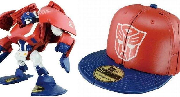 Transformers mění i do baseballové čepice