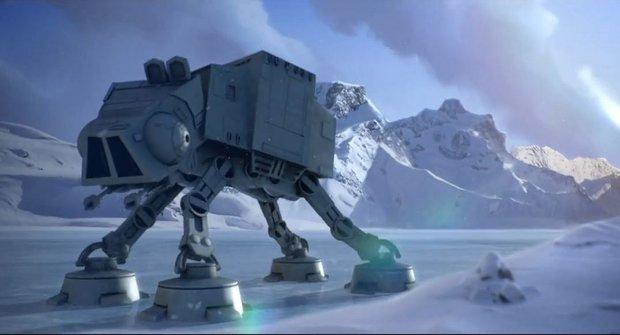 Star Wars a Angry Birds na ledové planetě