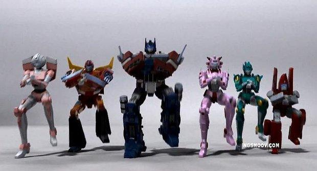 Transformers tančí Gangnam Style