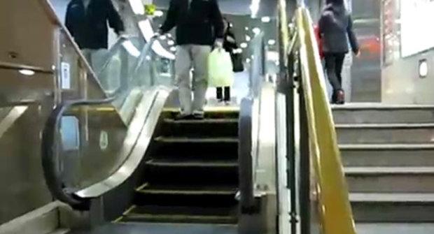 Nejkratší eskalátor na světě