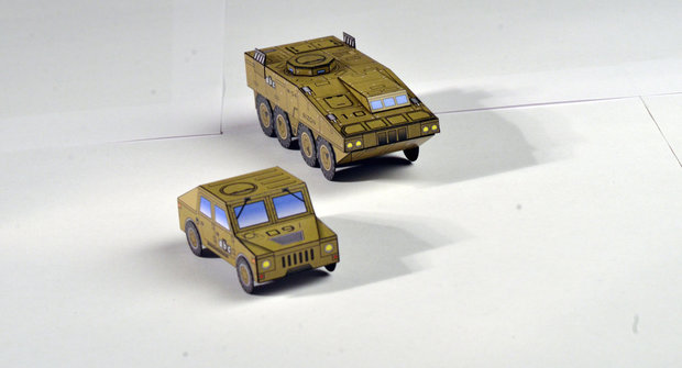 Papírová armáda ABC: A-12 Husky a W-54 Bizon