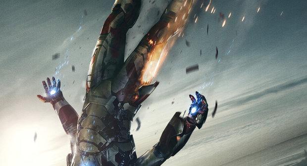 Iron Man padá na novém plakátu z nebe
