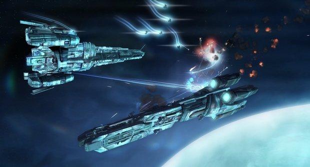 Strike Suit Zero: Vesmírná střílečka s Transformerem