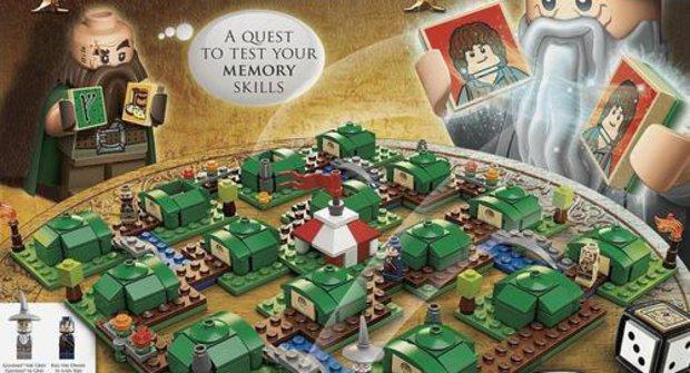 Hobit jako desková hra z Lego? Ano!