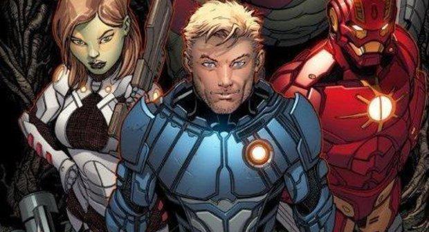 Iron Man se přidává ke Strážcům galaxie