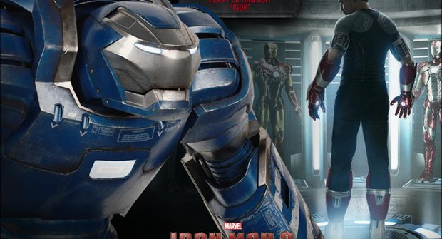 6 verzí Iron Manova brnění