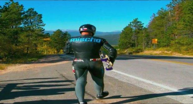 Nejrychlejší longboardista na světě