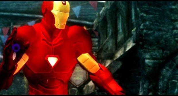 Iron Man se dostal do Skyrim