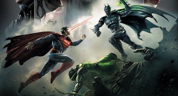 Což takhle zmlátit Supermana nebo Batmana?