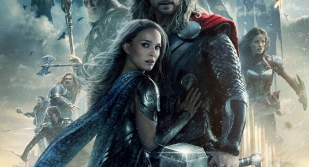 Epický nový plakát na druhého Thora