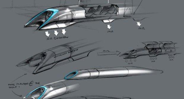 Nechte se inspirovat: Plány na Hyperloop