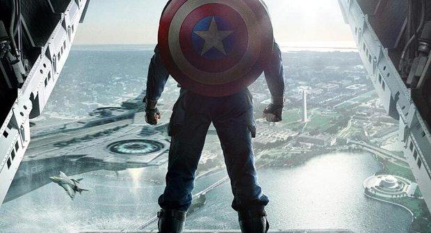 Nový plakát na druhého Captaina Ameriku je boží