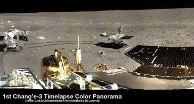 Vzhůru na Měsíc! První pořádné panorama od roku 1972