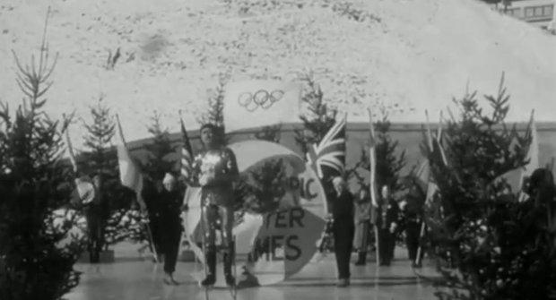 Takhle divně vypadala zimní Olympiáda před 80 lety