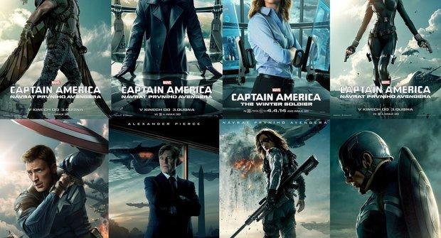 Captain America: Návrat prvního Avengera a kompletní sbírka super plakátů