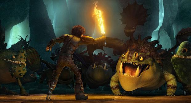 Soutěž o ceny k filmu Jak vycvičit draka 2