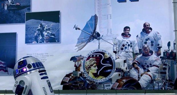 NASA taky oslavila Den Star Wars a má pro nás poselství přímo z vesmíru