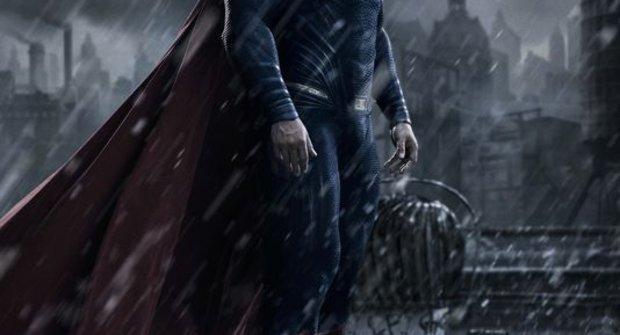 Batman V. Superman: První fotka Muže z oceli – v temném Gothamu?