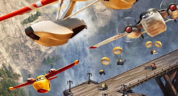 Výherci soutěže k filmu Letadla 2: Hasiči a záchranáři
