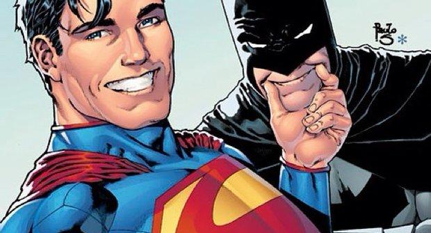 Kámoši jak hrom: Batman a Superman si střihli selfie!