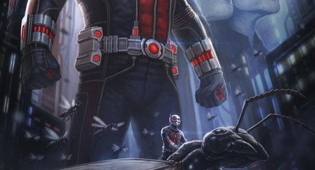 Ant-Man od Marvelu má první plakát, ale není v Avengers