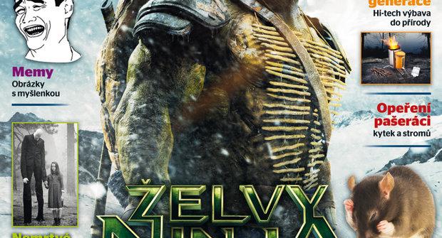 Co bude v ABC č. 17: Hrdinové z kanálu Želvy ninja